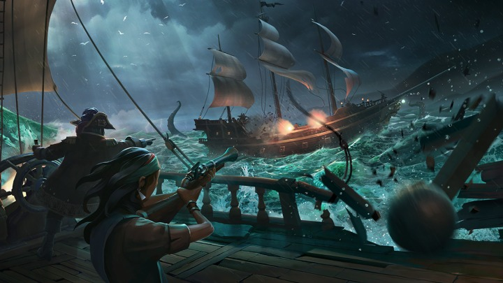 9- sea of thieves