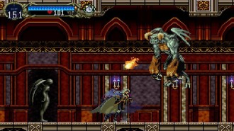 Gargoyle from Castlevania: Symphony of the Night.