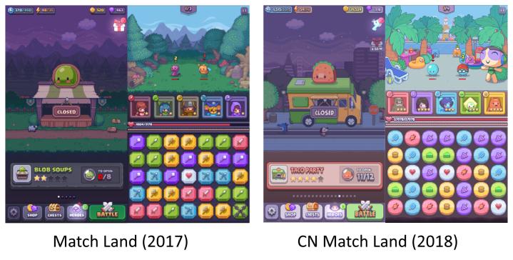 MatchLandComparison